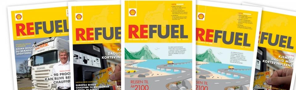 Shell genopliver kundemagasin